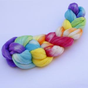 Hand Dyed Varigated Yarns and Roving